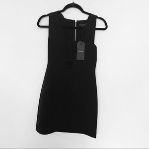 NWT rag & bone Izzy cutout black dress
